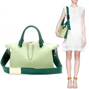 Authentic Chloe Bicolor Baylee Crossbody Bag